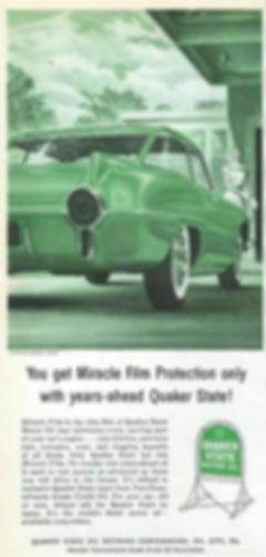 1956 Quaker State Motor Oil  Pontiac Strato Chief