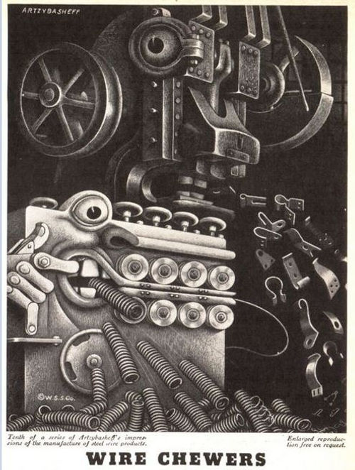 Wickwire Spencer Steel #10, Artzybasheff