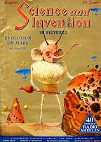 Science and Invention, cover, August 1924