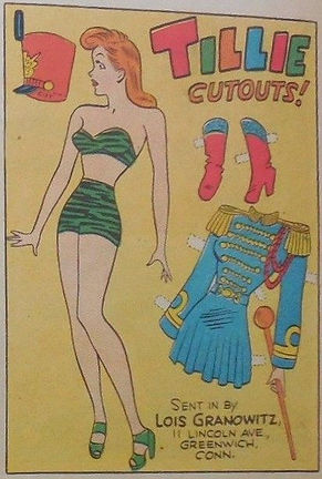 Tillie the Toiler Paper Doll, Lois Granowitz