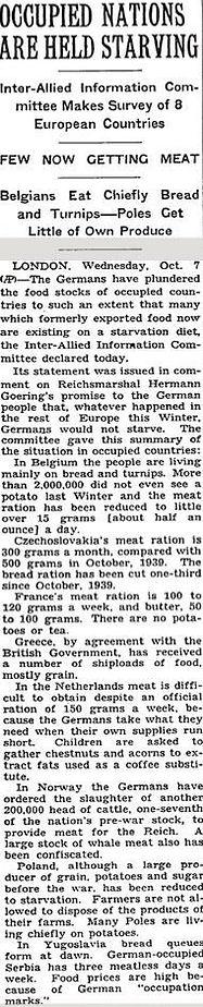 New York Times, September 20, 1942