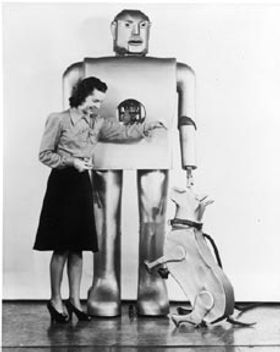 Westinghose, Electro with Sparko the dog, 1940