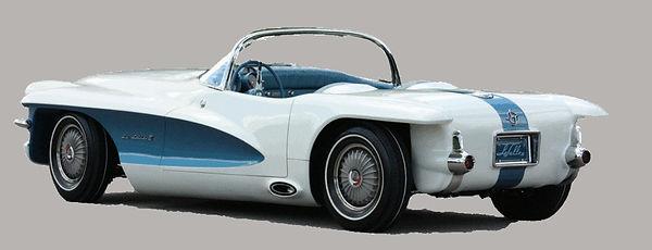 1956 Cadillac La Salle II roadster.