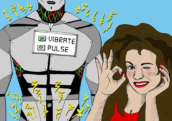 sexbot vibrate pulse Liberty Antonia Sad