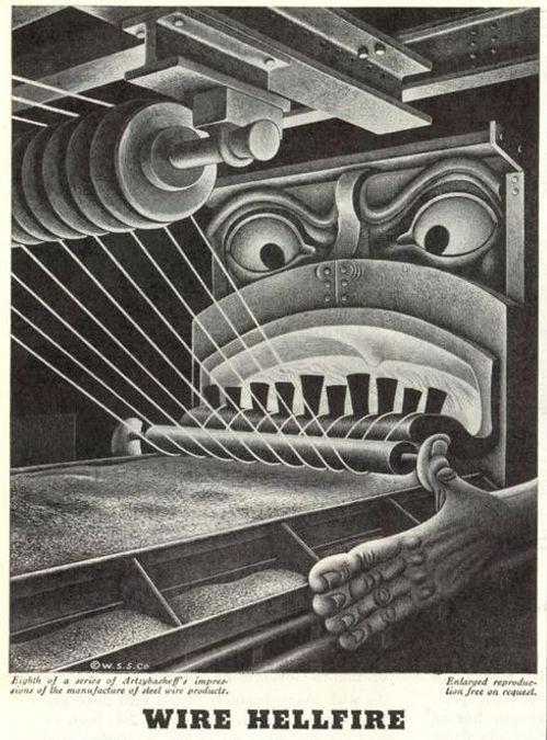 Wickwire Spencer Steel #8, Artzybasheff,