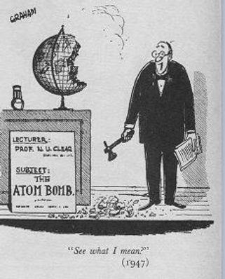 1947 Punch cartoon by Alex Graham