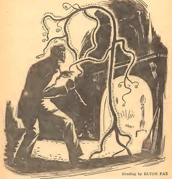 1944-05 Weird Tales 30, Manly Wade Wellm