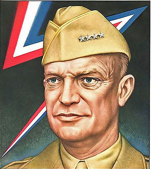 Time cover of Eisenhower, art by Boris A