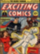 Exciting Comics #25, February 1943