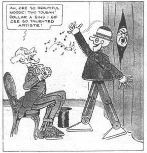 Percy in Sageland, New York Herald 1919