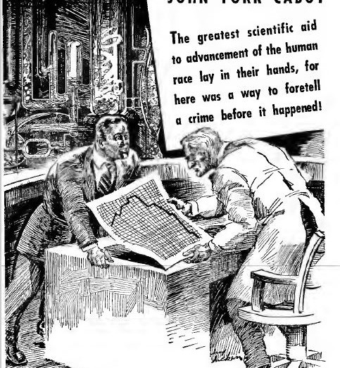 Amazing Stories, February 1941, Skidmore's Strange Experiment