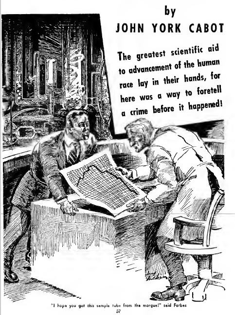 Amazing Stories, February 1941, Skidmore's Strange Experiment