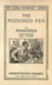 Craig Kennedy, The Poisoned Pen 1913