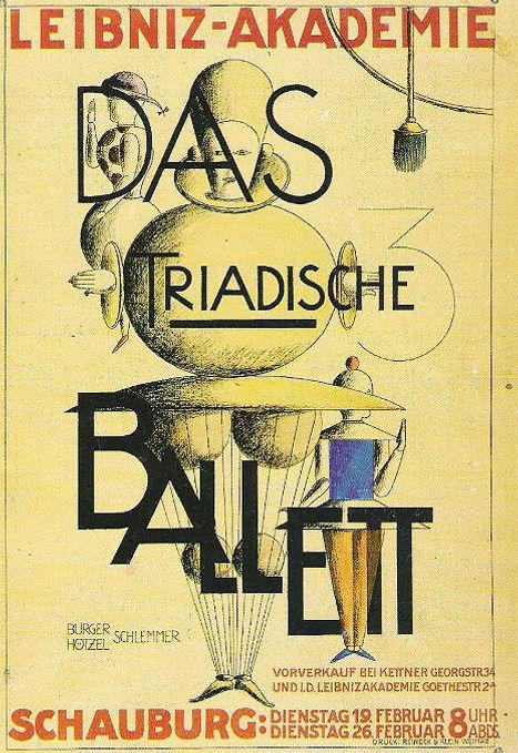 Triadic Ballet poster, 1924