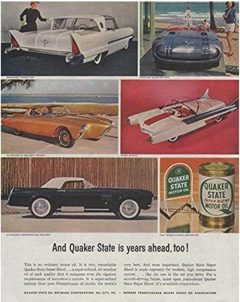 Quaker State ad 1956-10-20 Sat. Eve. Post