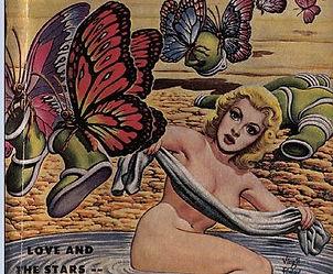 Future Science Finley June 1959; art by Virgil Finley