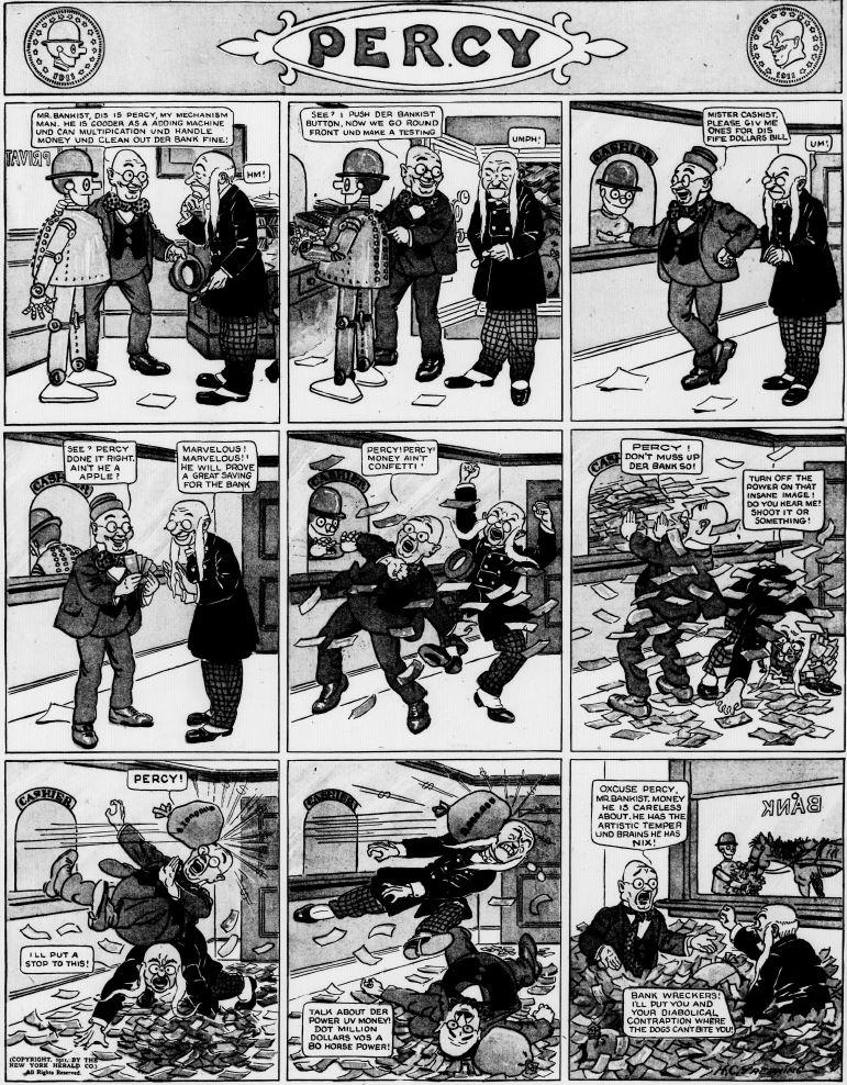 19111203 [Washington, DC] Evening Star, December 3, 1911 Percy mechanical man