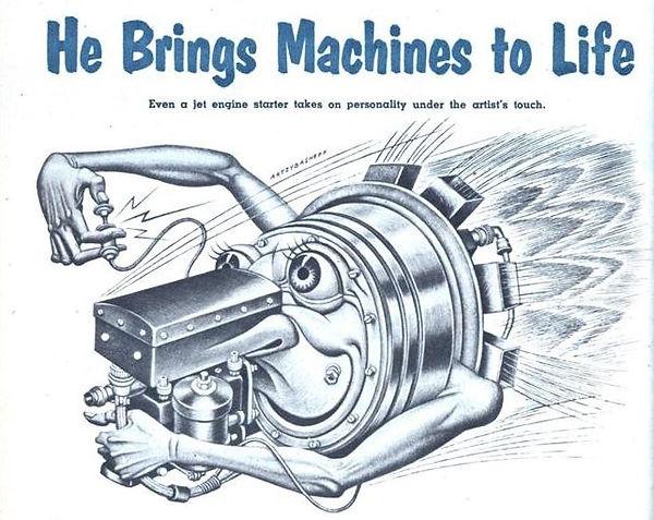 Mechanix Illustrated Oct. 1954, 84 Boris