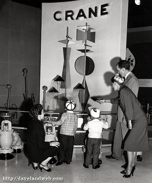Crane Bathroom of Tomorrow kids viewing