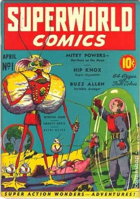 Superworld Comics #1, April 1940 cover.j