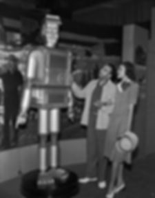 Mechanical Man Exhibit at the American Negro Exposition, 1940