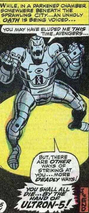 Avengers #55, August 1968 p20