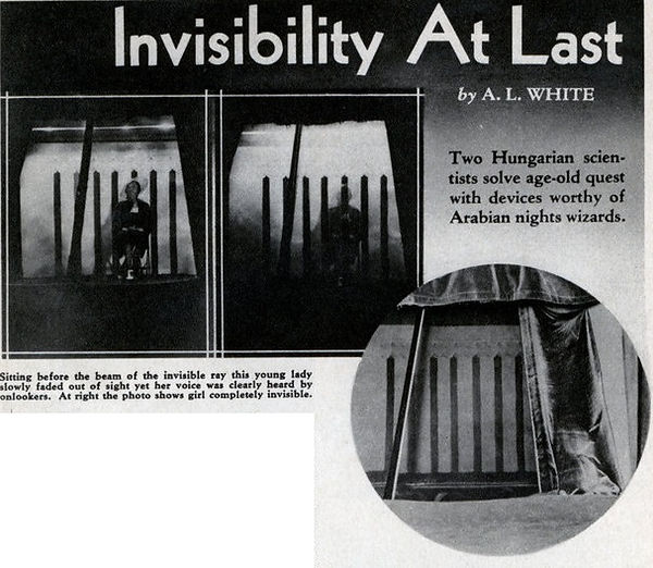 1936-10 Modern Mechanix invisibility ray
