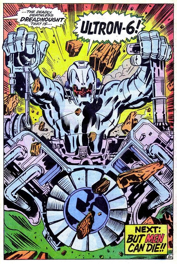 Avengers #66, July 1969 p20