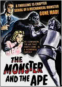 The Monster and the Ape DVD cover