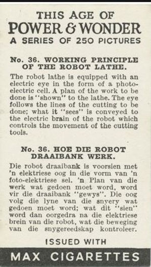 This Age of Power & Wonder #36 Working Principle of the Robot Lathe