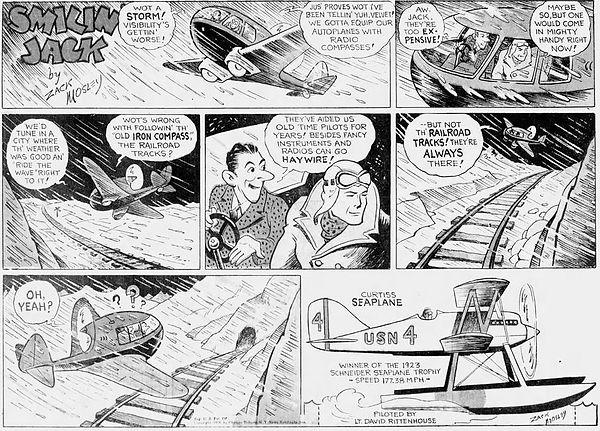 Smilin' Jack, February 23, 1936