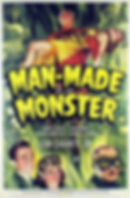 Man-Made Monster, poster, 1941