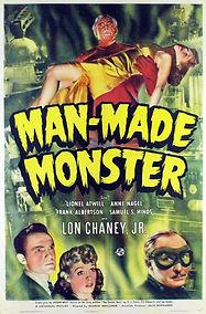 Man-Made Monster, poster, 1941