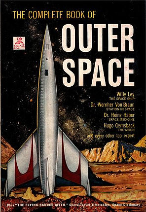 Complete Book of Outer Space, Gnome Press edition 1953