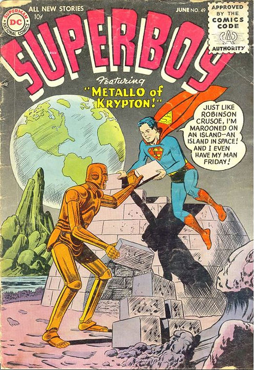 Superboy #49, June 1956