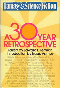 F&SF 30th Anniversary issue, October 1979