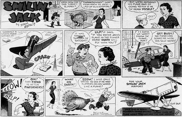 Smilin' Jack, November 24, 1935