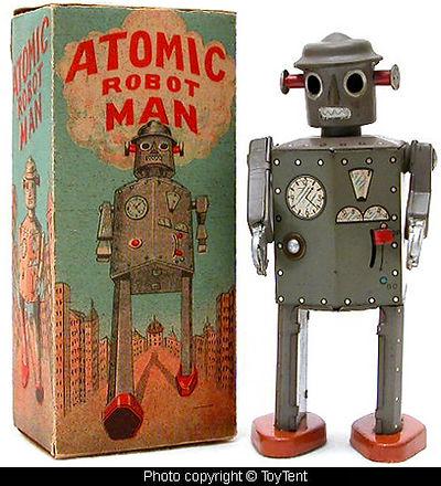 Atomic Robot Man, 1950