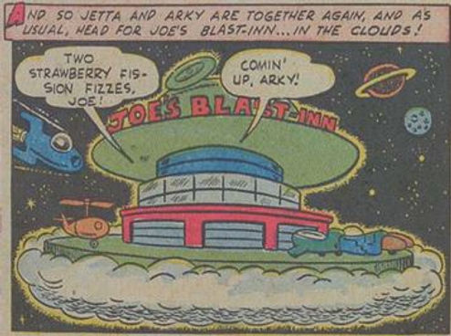 Jetta #5, Dec. 1952 Man Trouble 8 panel 5