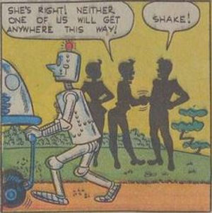 Jetta #5, Dec. 1952 Man Trouble 2 panel 5
