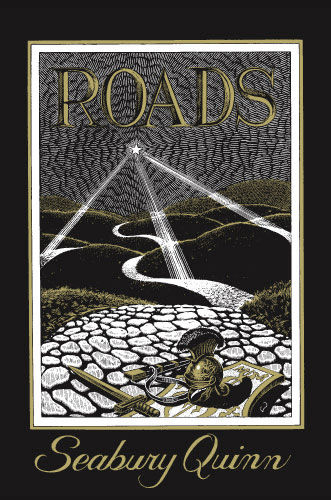 Roads by Seabury Quinn, Arkham House, Virgil Finlay cover art