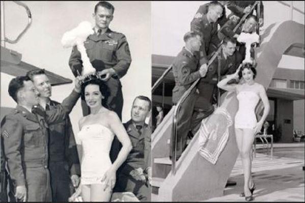 1955 Miss Cue Linda Lawson
