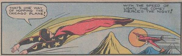Pep Comics #1, The Comet