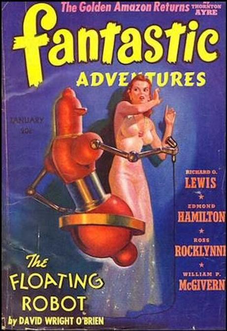 Fantastic Adventures, Jan. 1941, cover a