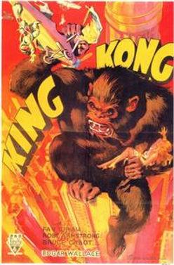 King Kong poster variant, 1933