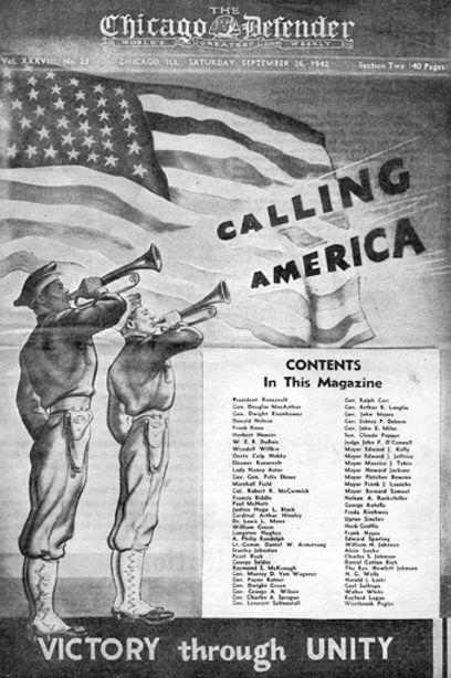 1942-09-26 Chicago Defender Victory through Unity