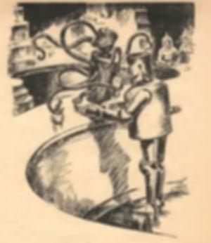 1943-03 Astounding 82 Elton Fax, Anthony