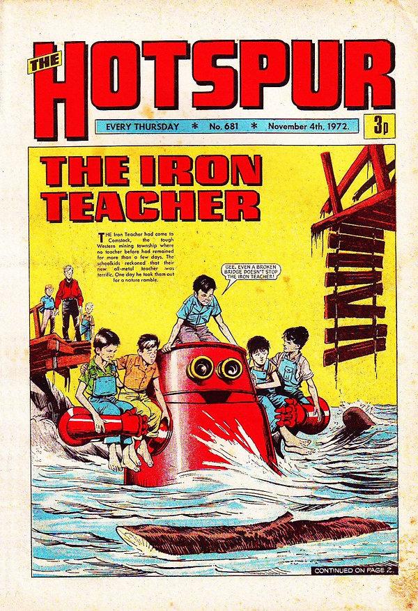 The Hotspur #681, Nov. 4, 1972