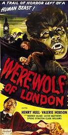 Werewolf of London, insert, 1935