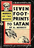 A. Merritt, Seven Footprints to Satan, Avon Muder of the Month